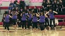 Sunset High School Sunflares dance team - Small Jazz performance - 12/13/08