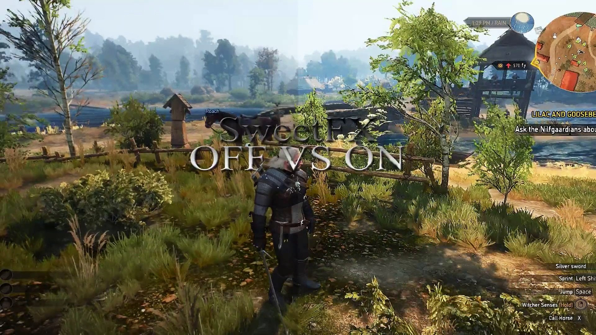 Witcher 3 – SweetFX/ReShade – MTechpark [Preset V3] - PC Gameplay on R9  290X, i7 4790K
