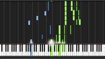 Synthesia - Main Theme (FF7 Piano Collections)
