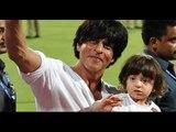 Little AbRam enjoys KKR match with daddy Shah Rukh Khan