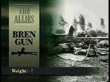 WW2 Bren light machine gun