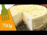 Recette de Cheesecake au citron vert sans cuisson - 750 Grammes