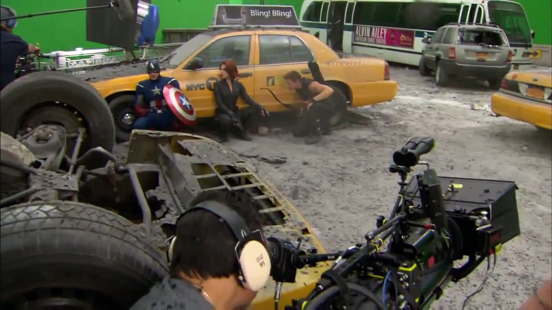 #2 The Avengers Behind the Scenes