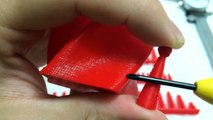 da Vinci 1.0 3D printer printing trials overview