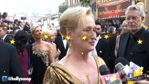Meryl Streep at 2012 Oscars Academy Awards Red Carpet Interview