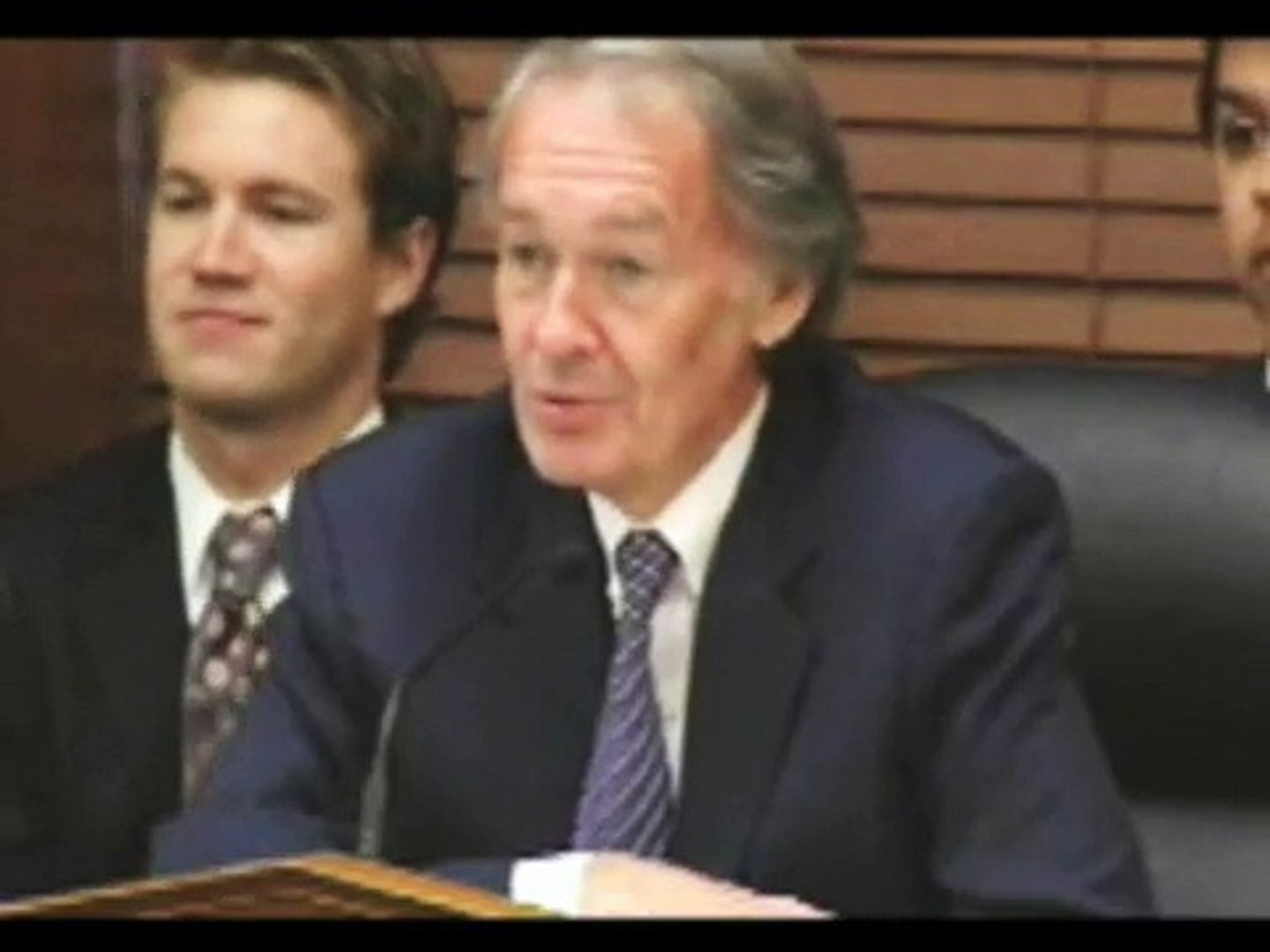 Prof. Gabriel Calzada and Congressman Edward Markey Square Off