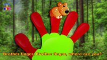 Animals Finger Family Songs -  Nursery Rhymes & Songs For ChildrensKids - Latest Rhymes Videos