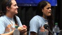Knoxville Super Regional: UT Post Practice - Raven Chavanne & E. Renfroe (5/23)