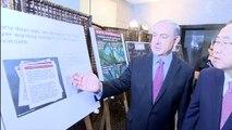 PM Netanyahu presents to UN Secretary General Ban Ki-moon Rockets and operating methods of Hamas