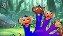 Monkey's Finger Family - Nursery Rhymes - Nursery Rhymes Songs For KidsChildrens - Rhymes Videos