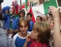 Italy wins World Cup, St Clair Ave, Toronto