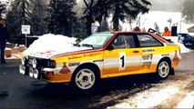 Audi: 30 years of quattro - Walter Röhrl and the Rallye Monte Carlo