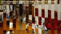 A vendre - maison - CREIL (60100) - 4 pièces - 85m²