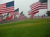 9-11 2010 Pepperdine University, Malibu, California Flag Flags Memorial