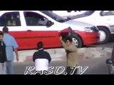 الاعتداء على اعضاء فريق التلفزة الوطنية محمود الحيسن والصالحة بوتنكيزة 22052013