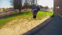 GoPro Hero 3: Freerunning and Parkour Flips and Tricks in Holland