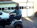 Bolens HT23 -vs- Cub Cadet 1572 Super Garden Tractor Tractor Pull