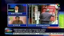Chile, uno de los países más desiguales del mundo
