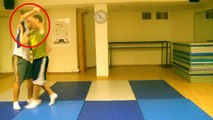 KRAV MAGA: Punch Defense Series - Hook (Sucker) Punch to Throw Defense