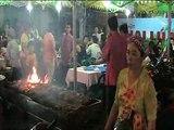 Saigon Night Market Food, Vietnam