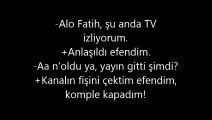 Alo Fatih Capsleri - Komik ALO Fatih Diyalogları
