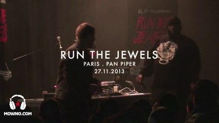 RUN THE JEWELS - Live in Paris