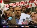 CanalN:26.09.13- Marcha de 'Hinchas Indignados' en contra de Manuel Burga