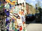 Jim Power's Mosaic Tiles Bring Art to New York Streets