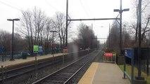SEPTA Regional Rail: West Trenton Line Silverliner V's at Yardley, PA