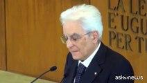 Mattarella: da questione meridionale dipende futuro Italia in Ue