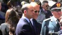 Grasso e Alfano ricordano agenti uccisi nella strage di Capaci