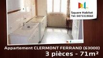 A vendre - Appartement - CLERMONT FERRAND (63000) - 3 pièces - 71m²