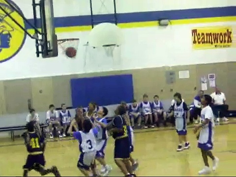 East  Middle school Basketball Highlights