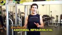 Exercícios Abdominais #8 - Infraumbilical no solo - Abdominal inferior