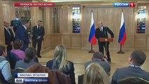 Путин  про отличие бабушки от дедушки - 17.10.2014