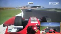 F1 2006 Michael Schumacher vs Alonso Istanbul Park Onboard