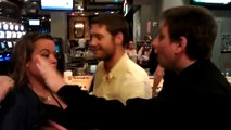 Guy Punches Drunk girl in the Face!