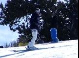 Advanced Snow Skiing Tricks Switch 180 Snow Ski Trick