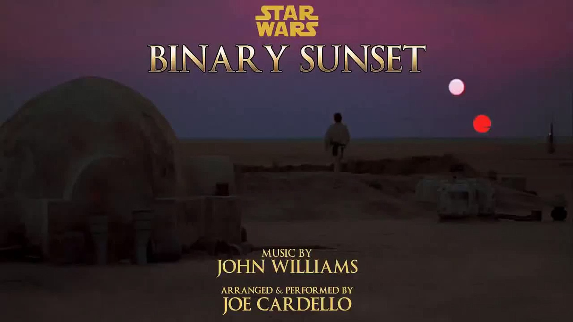 Binary Sunset On Piano Star Wars Video Dailymotion