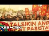 SONA protesters seek PNoy's ouster over DAP