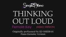 Photograph (Higher Key - Piano karaoke demo) Ed Sheeran - video