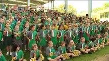 Glenmore State School - GenerationOne Hands Across Australia Schools Competition 2011