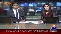 Geo News Headlines 24 May 2015_ Sartaj Aziz Responce on Indian Minister Statemen