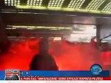 Napoli: Ultras assalto treno - i video degli scontri
