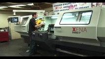 Le Tour conventionnel XENA à commande assistée du contrôleur TACHYON de Machineries ISOTOP