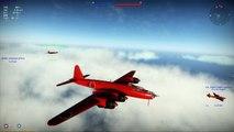 War Thunder Heavy Bomber Dogfighting!  G8N1 DeathStars vs B-17s! (War Thunder 1.43)