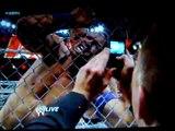 John Cena vs. Alex Riley Steel Cage match
