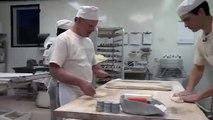 King Arthur Flour  Baguette  4 - Shape a round loaf, baguette