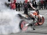 Burn zéro pneu
