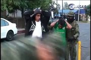 Detienen a tres hombres con droga y armas en el centro de Zitácuaro